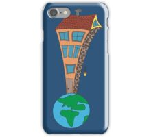 House at the end of the world iPhone Case/Skin