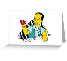 ZZZap! Greeting Card