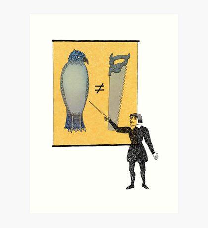 Hamlet's Weather Report Art Print