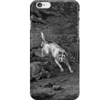 Terriers Black & White Dog Art iPhone Case/Skin