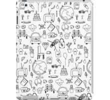 Just things, just ink iPad Case/Skin