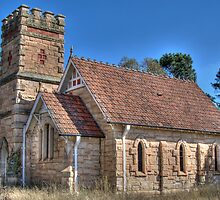 Anglican Church, Havilah, NSW, Australia by Adrian Paul