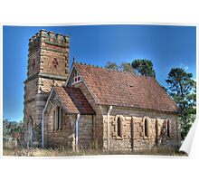 Anglican Church, Havilah, NSW, Australia Poster