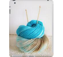 Wool and Knitting Needles iPad Case/Skin