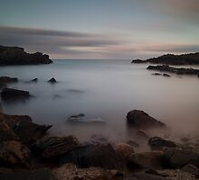 sunset over cove bay (2) by codaimages
