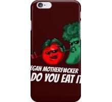 Pulp vegan iPhone Case/Skin