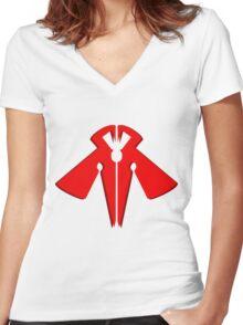 Raidraptor Rank-up-magic Women's Fitted V-Neck T-Shirt