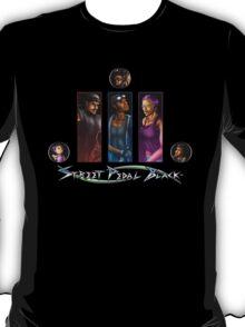 Street Pedal Black - #BlueInk Project T-Shirt