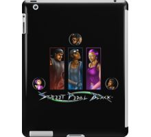 Street Pedal Black - #BlueInk Project iPad Case/Skin