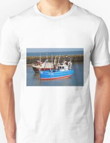 Folkestone harbour, England T-Shirt