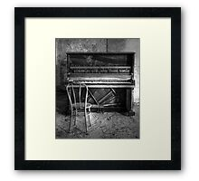 Norwich Piano, Hallet, Davis & Co from Boston Massachusetts Framed Print