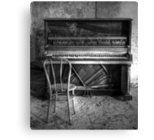 Norwich Piano, Hallet, Davis & Co from Boston Massachusetts Canvas Print