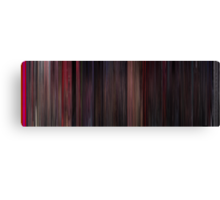 Moviebarcode: West Side Story (1961) Canvas Print