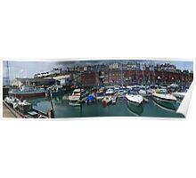 Ramsgate Harbour Panorama Poster