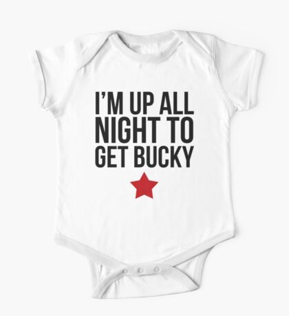 Up All Night To Get Bucky One Piece - Short Sleeve