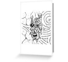 Killer Robot Greeting Card