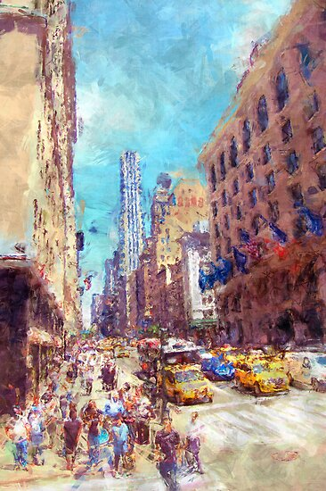 New York shopping by DARREL NEAVES