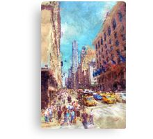 New York shopping Canvas Print