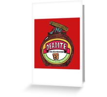 Deadite: The Evil Spread Greeting Card