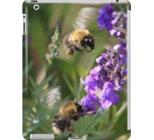 Late summer pollinators iPad Case/Skin