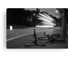 Monochrome Bike! Canvas Print