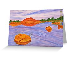 Tranquility. Greeting Card