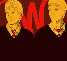 The Weasley Twins by DoctorSnippet