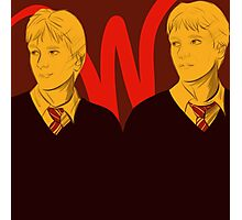 The Weasley Twins Photographic Print