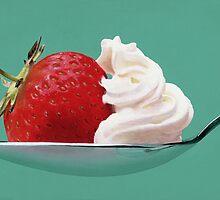 Strawberry & Cream by Scott Simpson