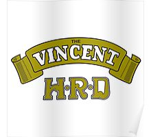 The Vincent HRD Poster