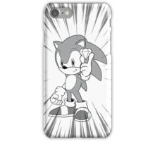 Sonic and the chaos emerald iPhone Case/Skin