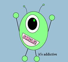 smiley alien Unisex T-Shirt