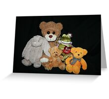Cuddly Toys Greeting Card