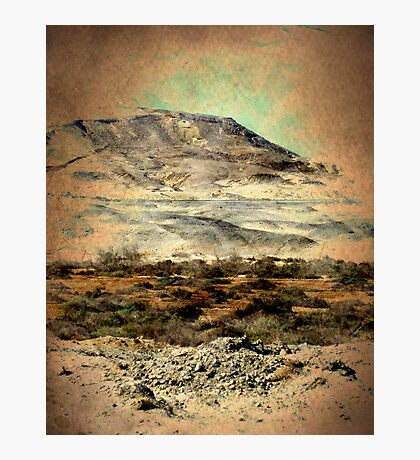 """""""Egyptian Mountains Landscape"""" -Africa Series- Photographic Print"""