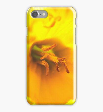 Glowing Daffodil iPhone Case/Skin