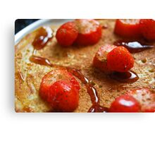 Strawberry Delight! Canvas Print
