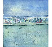 Lighea - Horizon, sky and sea Photographic Print