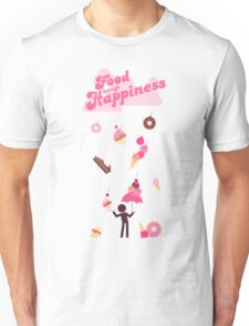 Food Brings Happiness Unisex T-Shirt