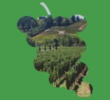 Napa Valley Vineyard Kids Tee