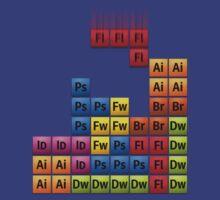 Creative Suite Tetris by Alisdair Binning