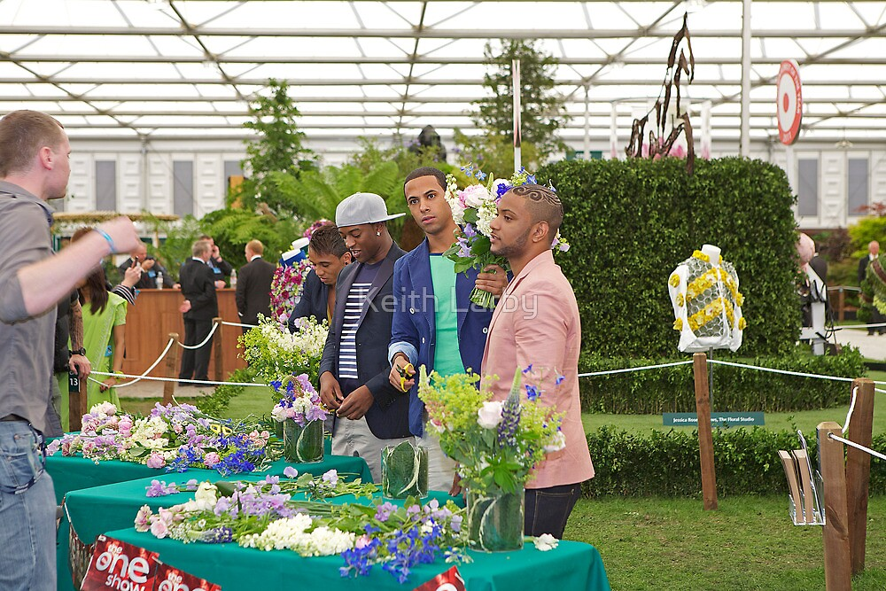 JLS at the chelsea flower show by Keith Larby