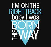 GAGA - BORN THIS WAY (LIGHT BLUE - CLEAR) T-Shirt