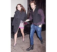 Leighton Meester and Sebastian Stan Photographic Print