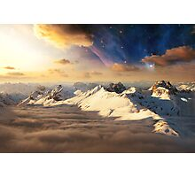 Asgard - Realm of the Gods Photographic Print