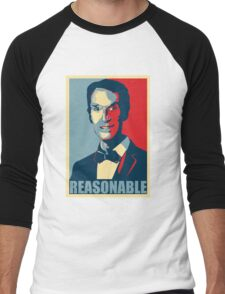 Reasonable Man Men's Baseball ¾ T-Shirt