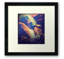 Oversaturated, Amongst Other Things Framed Print