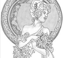 Merry Minuet/Fanatic's Fan Dance by redqueenself