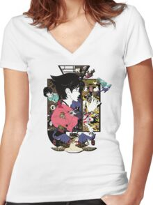 The Tatami Galaxy - T-shirt 1 Women's Fitted V-Neck T-Shirt