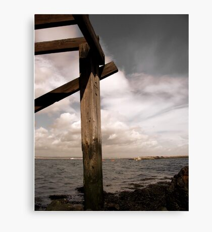 South Gare Canvas Print