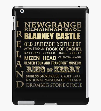 Ireland Famous Landmarks iPad Case/Skin